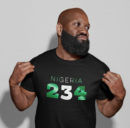 Nigeria 234 Mens T-Shirt