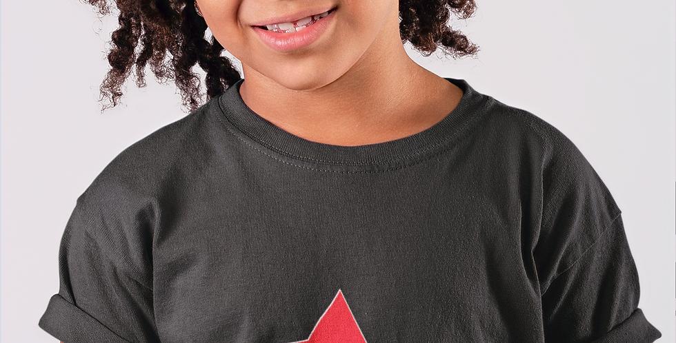 Libya Childrens Black T-Shirt
