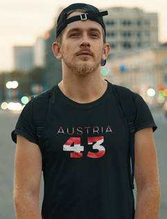 Austria 43 Mens T-Shirt