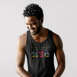 Central African Republic 236 Mens Tank Top