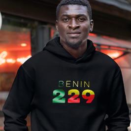 Benin 229 Mens Pullover Hoodie