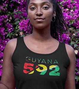 Guyana 592 Womens Vest