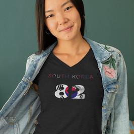 South Korea 82 Womens T-Shirt