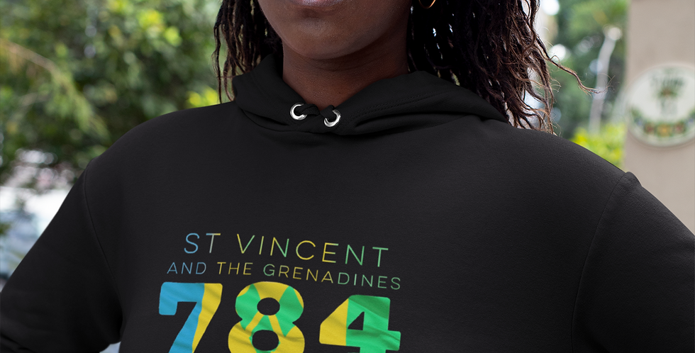 St Vincent and the Grenadines Womens Pullover Hoodie