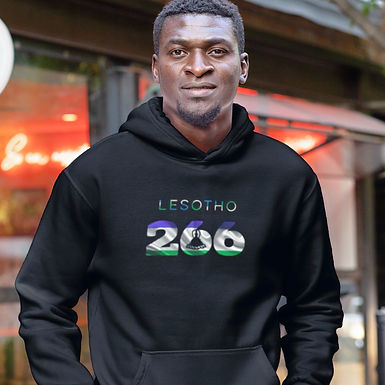 Lesotho 266 Men's Pullover Hoodie