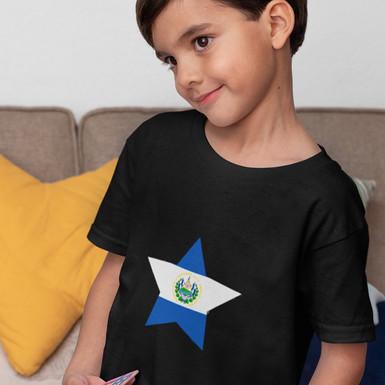 El Salvador Childrens T-Shirt