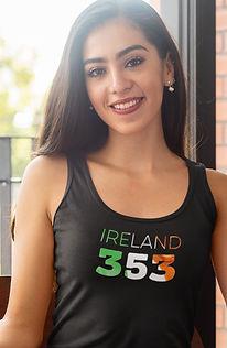 Ireland 353 Womens Vest