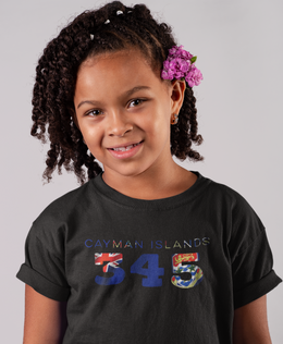 Cayman Islands 345 Childrens T-Shirt