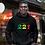 Senegal Mens Black Hoodie