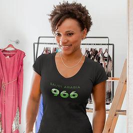 Saudi Arabia 966 Womens T-Shirt