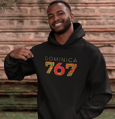 Dominica 767 Mens Pullover Hoodie