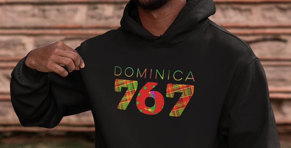 Dominica Mens Pullover Hoodie