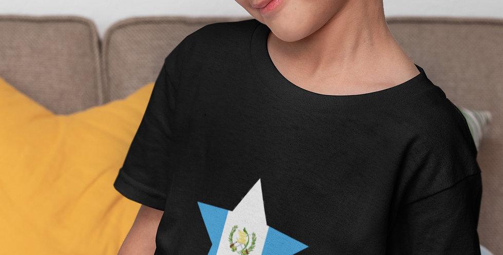 Guatemala Childrens Black T-Shirt