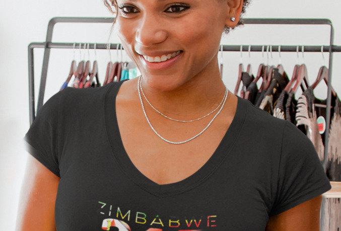Zimbabwe Womens T-Shirt