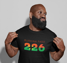 Burkina Faso 226 Mens T-Shirt