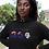 Anguilla Womens Black Hoodie