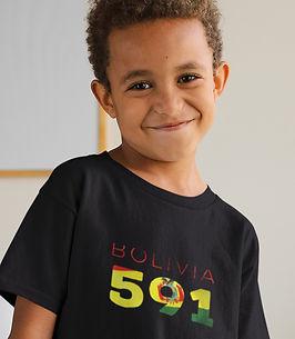 Bolivia Childrens T-Shirt