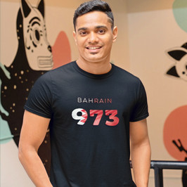 Bahrain 973 Mens T-Shirt