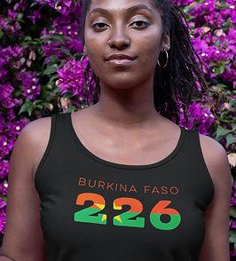Burkina Faso 226 Womens Vest