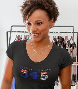Cayman Islands 345 Women's T-Shirt