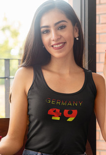 Germany 49 Womens Vest