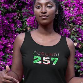 Burundi 257 Womens Vest