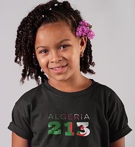 Algeria Childrens T-Shirt