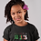 Childrens Algeria Black T-Shirt