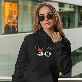 Hungary 36 Womens Pullover Hoodie