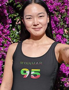 Myanmar 95 Womens Vest