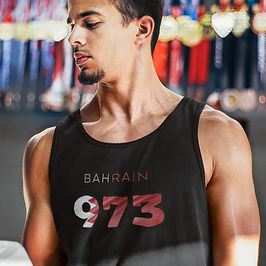 Bahrain 973 Mens Tank Top