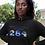 British Virgin Islands Womens Black Hoodie