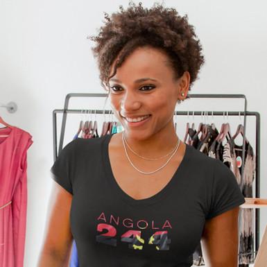 Angola 244 Womens T-Shirt