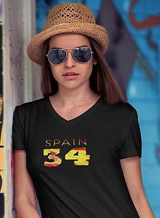 Spain 34 Women's T-Shirt