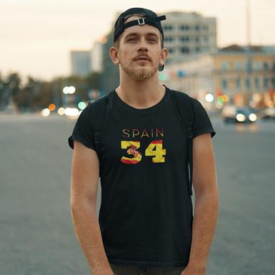 Spain 34 Mens T-Shirt