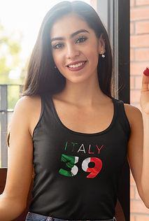Italy 39 Womens Vest