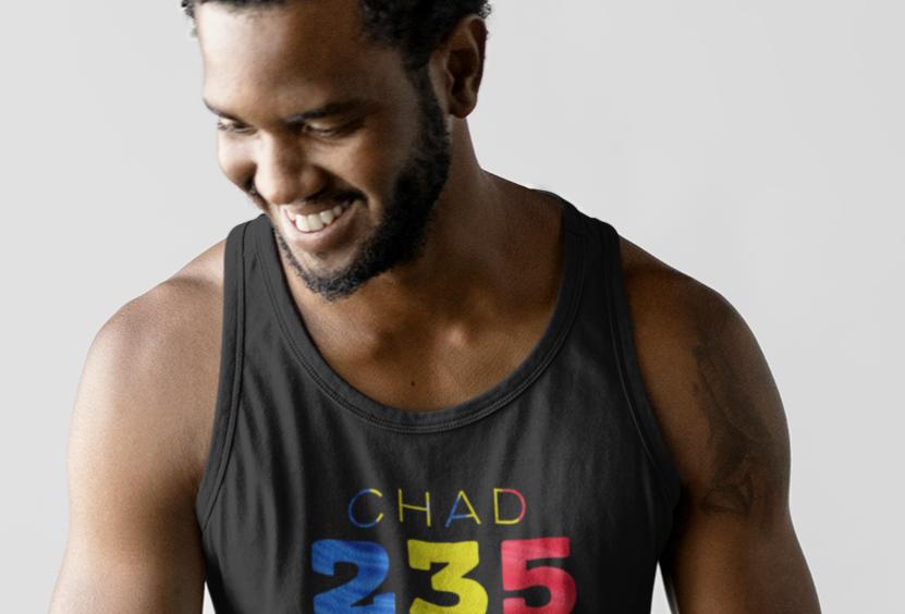 Chad Mens Tank Top Vest