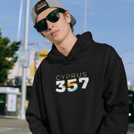 Cyprus 357 Mens Pullover Hoodie