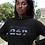 Botswana Womens Black Hoodie