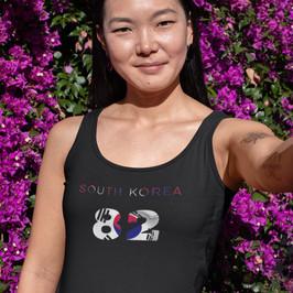 South Korea 82 Womens Vest