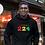 Guinea Mens Black Hoodie