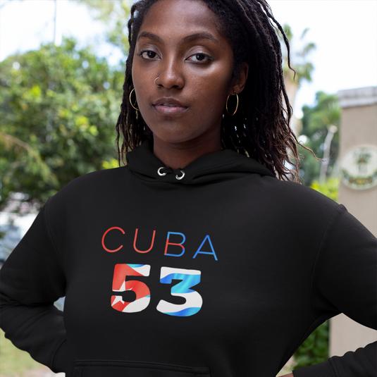Cuba 53 Womens Pullover Hoodie