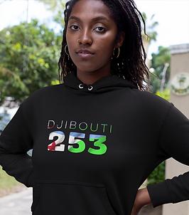 Djibouti 253 Women's Pullover Hoodie