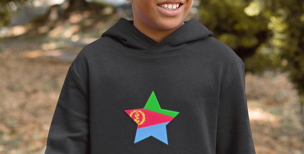 Eritrea Childrens Black Hoodie