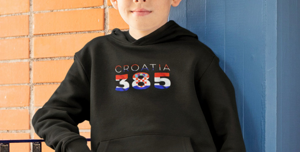 Croatia Childrens Hoodie