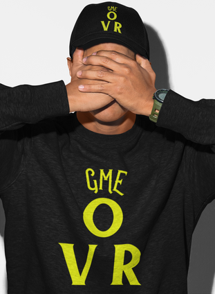 Game Over Mens Sweatshirt