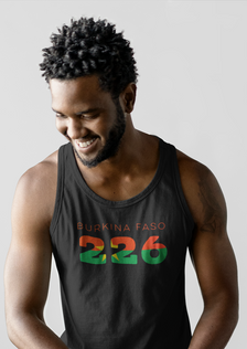 Burkina Faso 226 Mens Tank Top