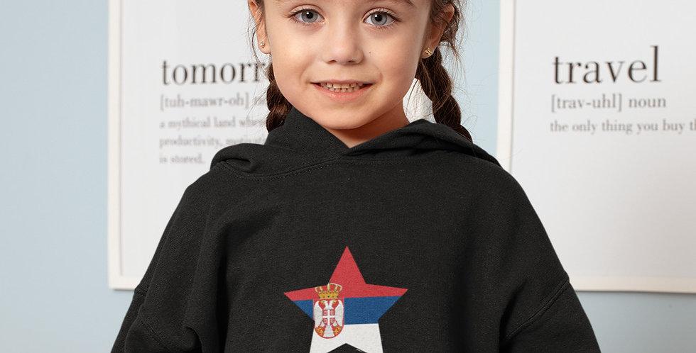 Serbia Childrens Hoodiee