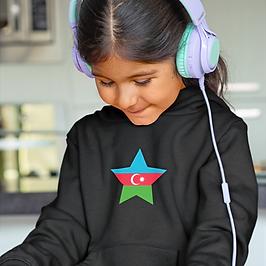Azerbaijan Childrens Hoodie