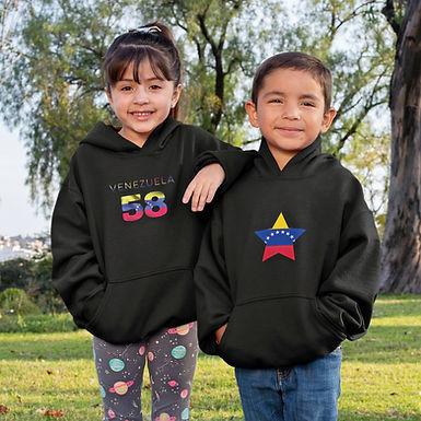 Venezuela Childrens Hoodie
